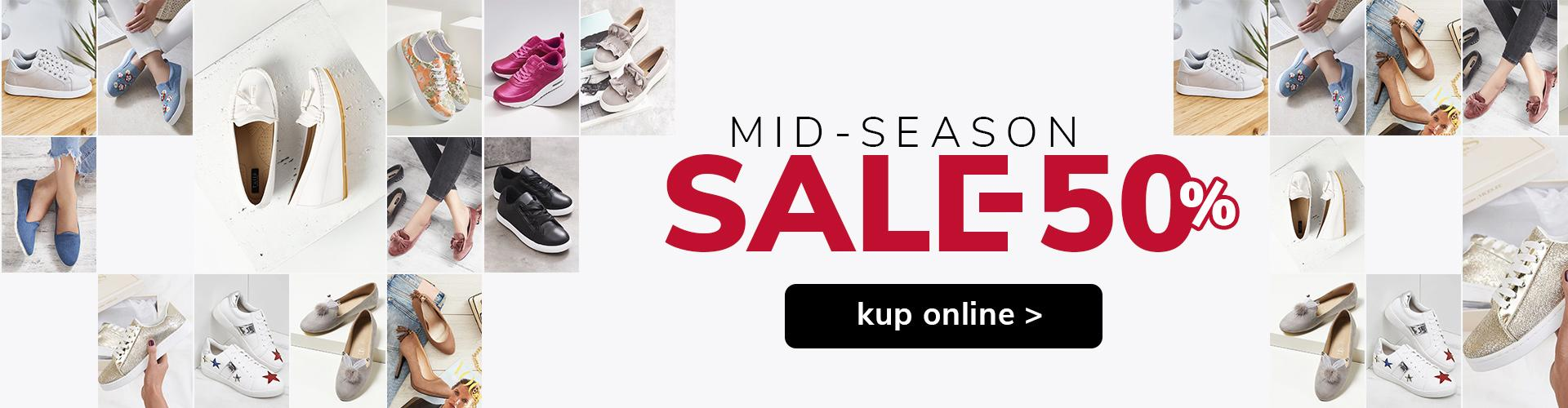 MID-SEASON SALE - 50%