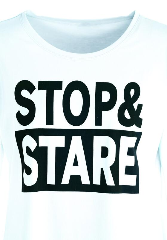 Miętowy T-shirt Stop&Stare