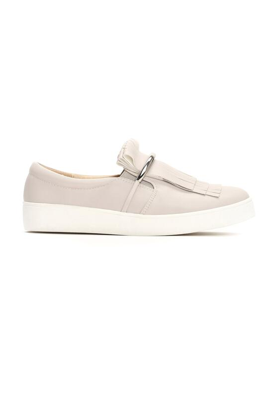 Szare Slip On Elderberry