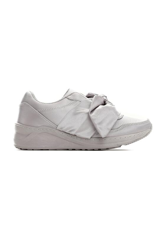 Szare Buty Sportowe Crystal Thoughts
