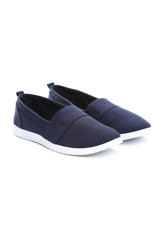 Granatowe Slip On Only Girl