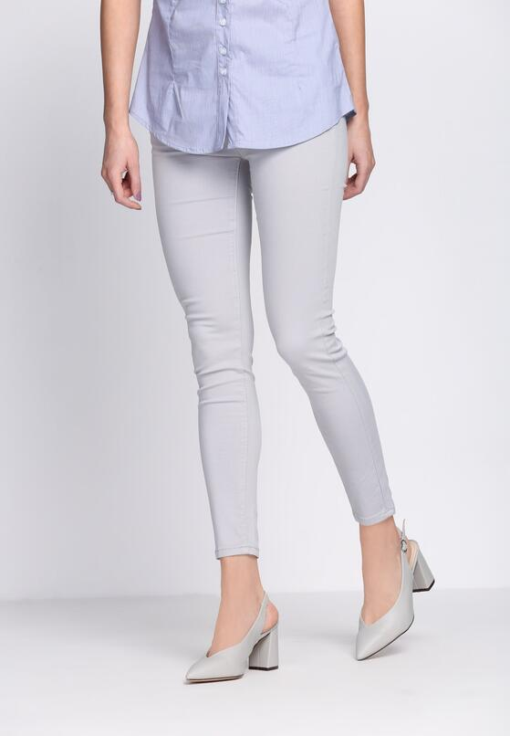 Szare Jeansy Office's Look