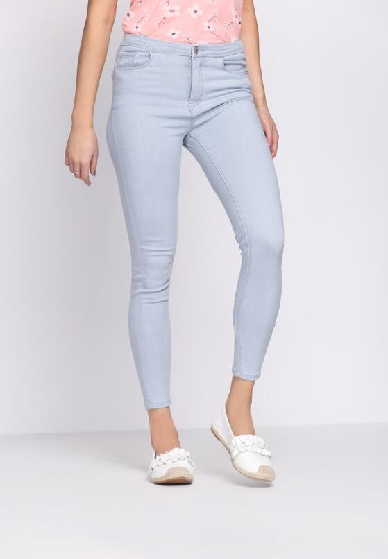 Szare Jeansy Simple Look