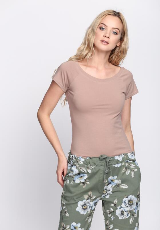 Khaki T-shirt Candle's Brighter
