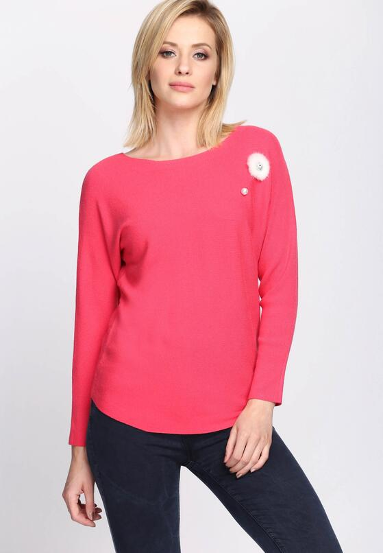 Koralowy Sweter By Extension