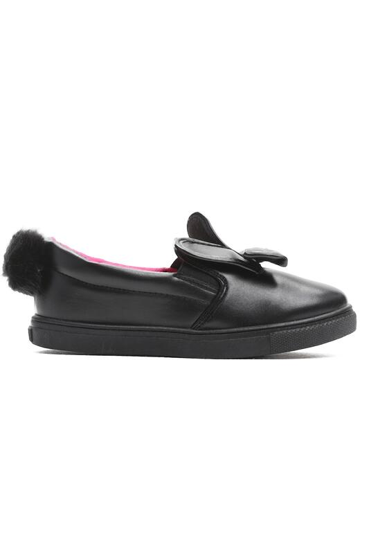 Czarne Slip On Game Over