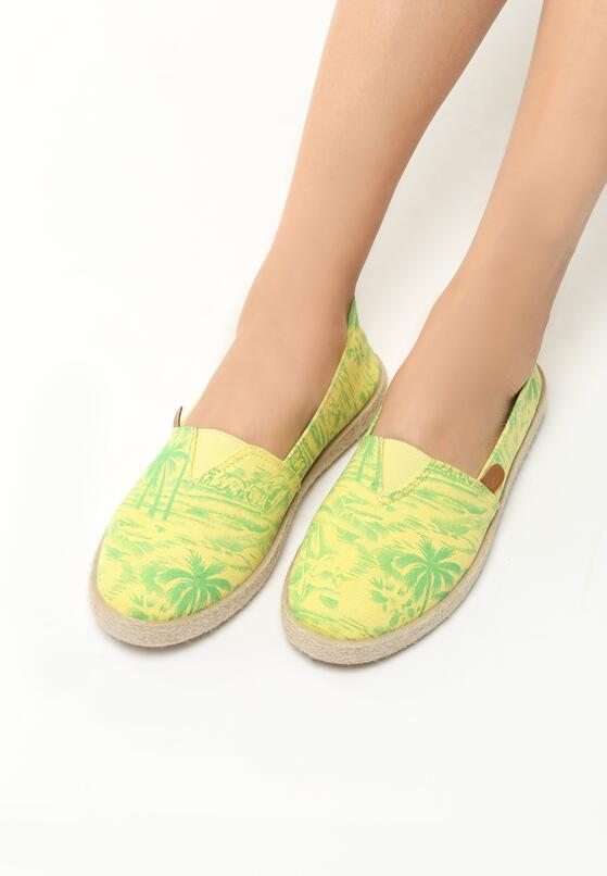 Żółte Espadryle Summer Breeze