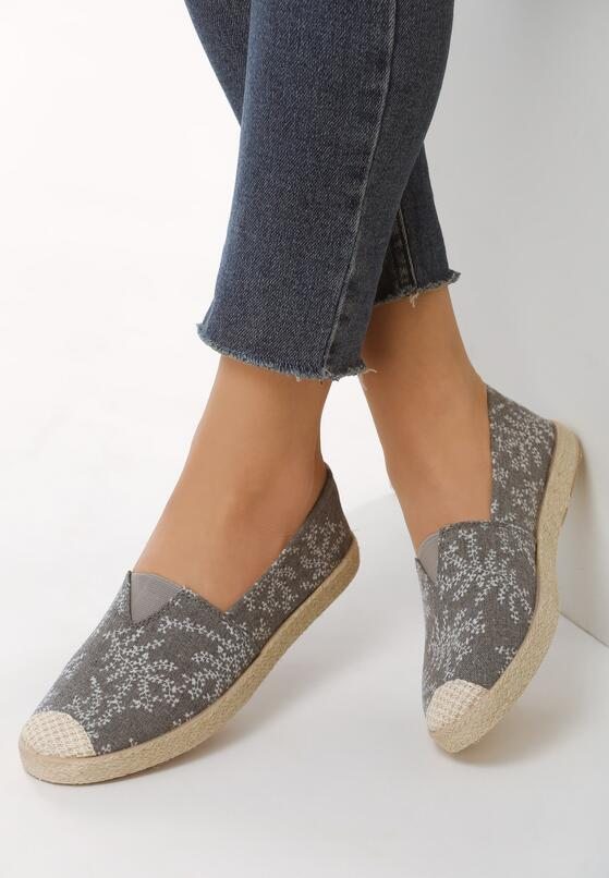 Szare Espadryle All I Want