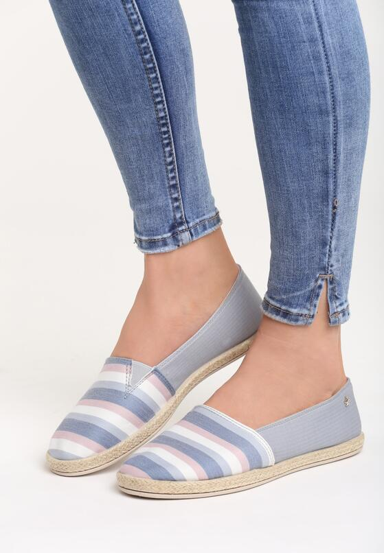 Szare Espadryle Angel Eyes