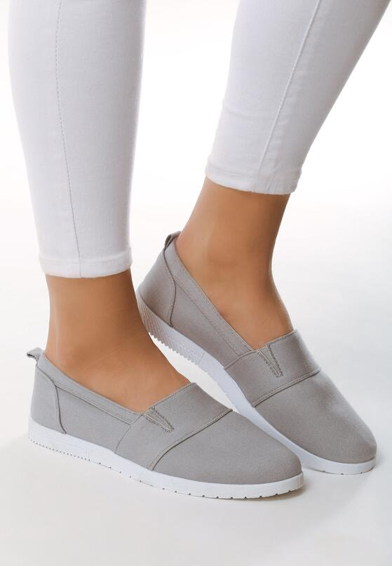 Szare Slip On Only Girl