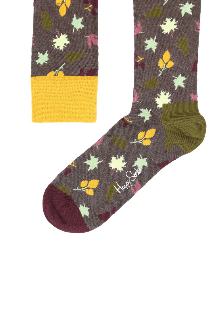 Ciemnoszare Skarpetki Fall Happy Socks
