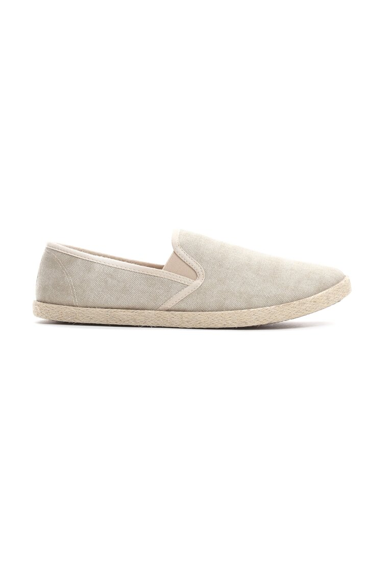 Beżowe Espadryle Mean Nothing