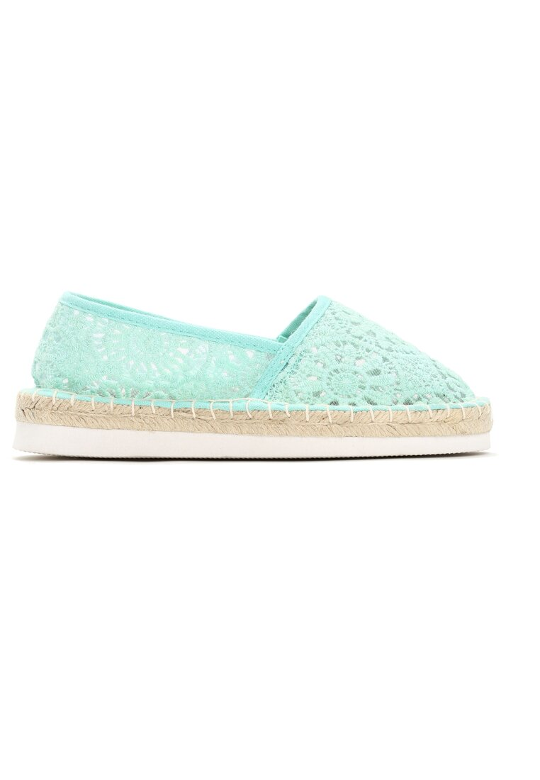 Miętowe Espadryle City Of Stars