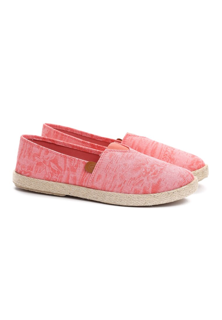 Różowe Espadryle Summer Breeze