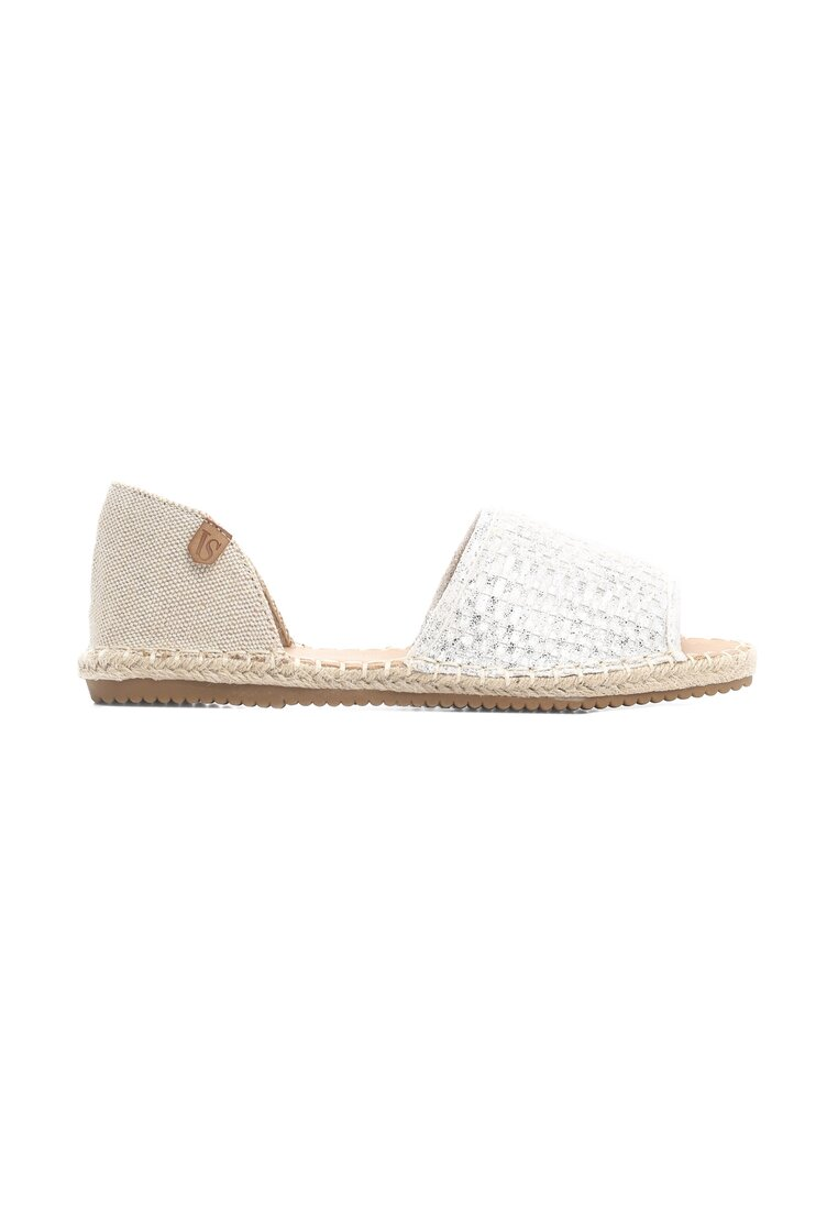 Srebrne Espadryle Integrated